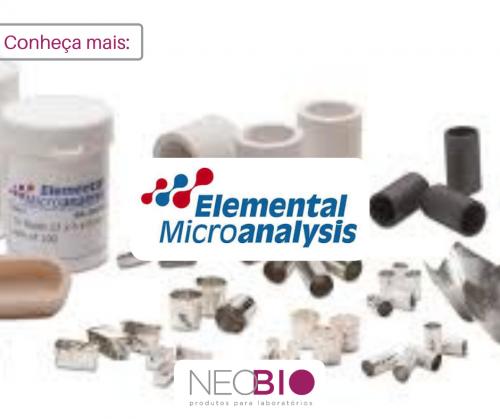 Conheça nossas marcas - Elemental Microanalysis