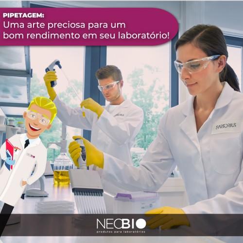 Pipetagem - Uma arte preciosa para um bom rendimento em seu laboratório!