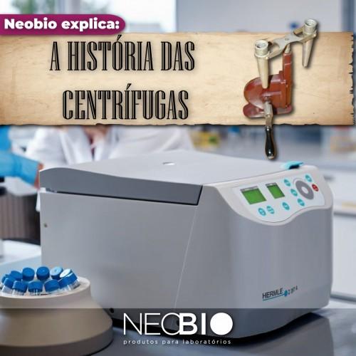 A História das Centrífugas de Laboratório